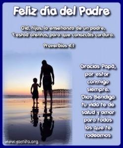 Frases del día del padre de De agradecimiento