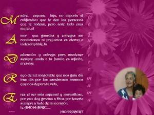 Frases por el día de la madre Acróstico