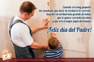 Mensajes por el día del padre para dedicarle tu amor