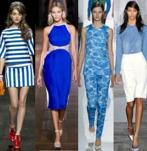 Más tips de cómo combinar colores: El azul