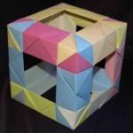 Cómo hacer un cubo en origami