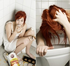 Desórdenes alimenticios:  Buliminia