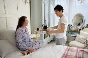 Desayuno romántico:  Consejos
