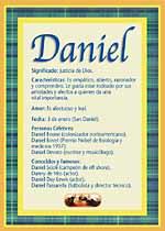 Qué significa el nombre de Daniel