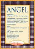 Significado de Ángel según la numerología