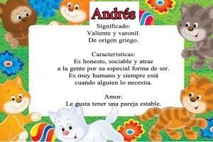 Significado de Andrés Y sus características