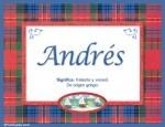 Significado de Andrés