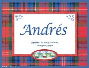 Significado de Andrés según la numerología
