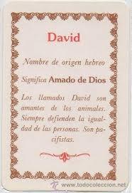 Significado de David según la numerología