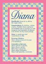 Significado de Diana en numerología