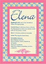 Significado de Elena en numerología