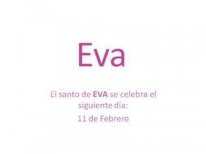 Significado de Eva Y su personalidad