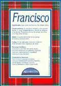 Significado de Francisco según la numerología