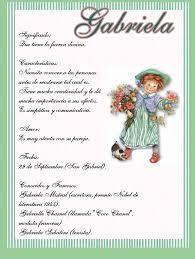 Significado de Gabriela en numerología