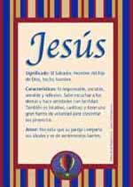 Significado de Jesús y la numerología