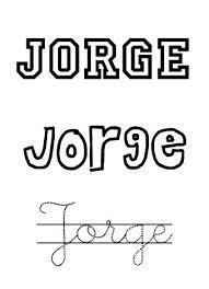 Significado de Jorge Y su personalidad