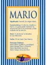 Significado de Mario