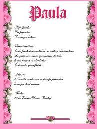 Significado de Paula en la numerología