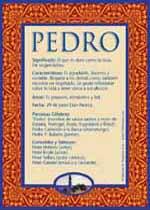 Significado de Pedro Y las Características