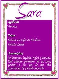 Significado de Sara en la numerología