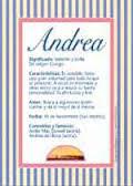 Significado del nombre Andrea y la numerología