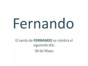 Significado del nombre Fernando Historia y origen