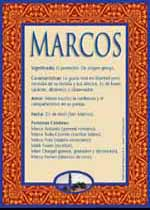Significado del nombre Marcos según la numerología