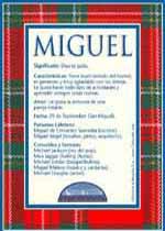 Significado del nombre Miguel según la numerología