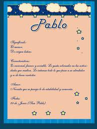 Significado del nombre Pablo Y su personalidad