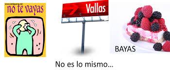 Vallas o vayas Qué significa vayas
