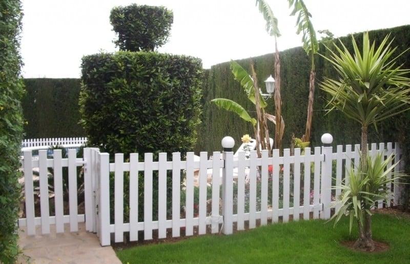 Vayas o vallas ejemplos de - Rejas para jardin ...
