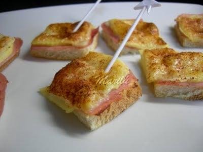 Aperitivos f ciles ejemplos de for Canape de jamon y queso