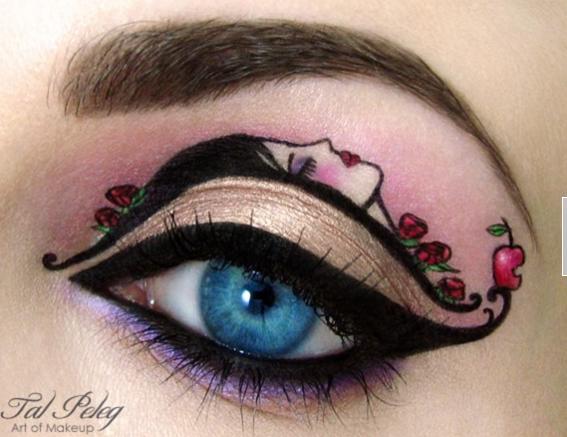 C mo maquillarse los ojos ejemplos de for Pintarse los ojos facil