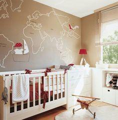 Cómo pintar una habitación infantil