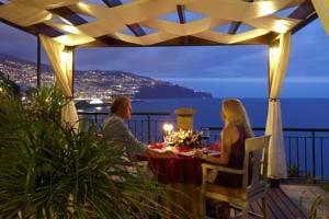 Cena romántica Al aire libre