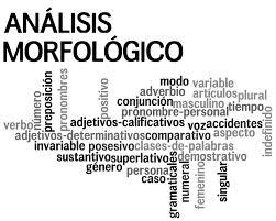 Análisis morfológico: Ejercicios para analizar morfológicamente oraciones