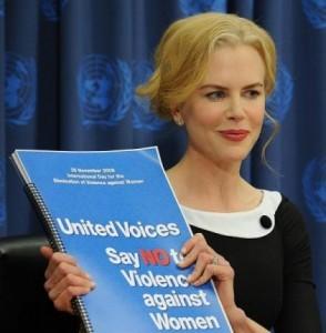 Frases contra la violencia de género De Nicole Kidman