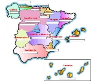 Gentilicios de España según la provincia