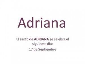 Significado del nombre Adriana Y su personalidad