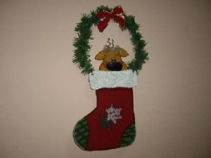Adornos navideños Botas de Navidad