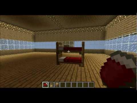 C mo hacer una cama en minecraft ejemplos de - Como construir una cama ...