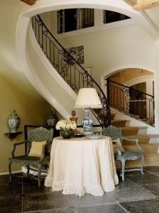 Decoración de escaleras y los pasillos