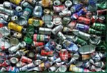 Materiales reciclados:  Los metales