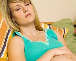 Primera semana de embarazo síntomas:  El cansancio