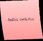 ¿Cómo realizar el análisis sintáctico?