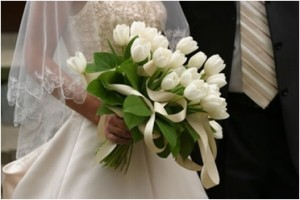 Tulipanes para ramo de novia. Excelente idea.