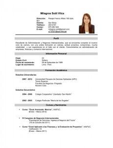 Currículum personal