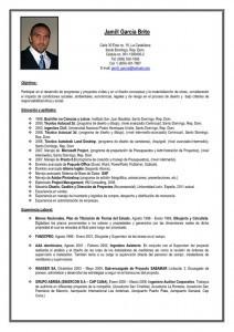 Currículum vitae ejecutivo