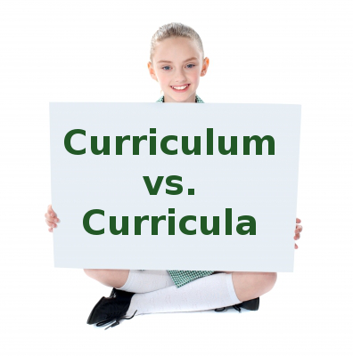curriculum plural