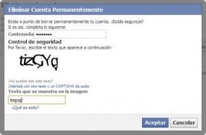 Cómo eliminar mi facebook definitivamente
